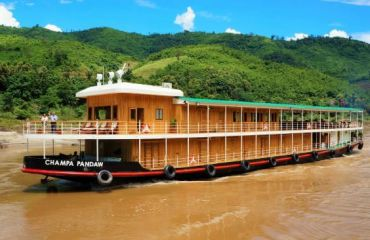 Experience of Travel in His Cruise with RV Champa Pandaw 5