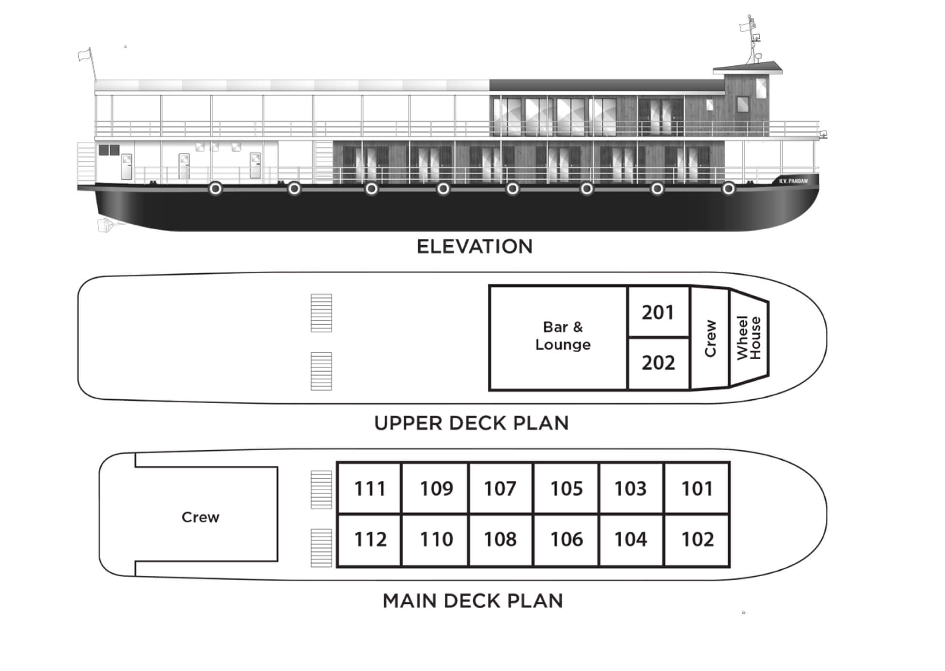 rv champa pandaw deck plan
