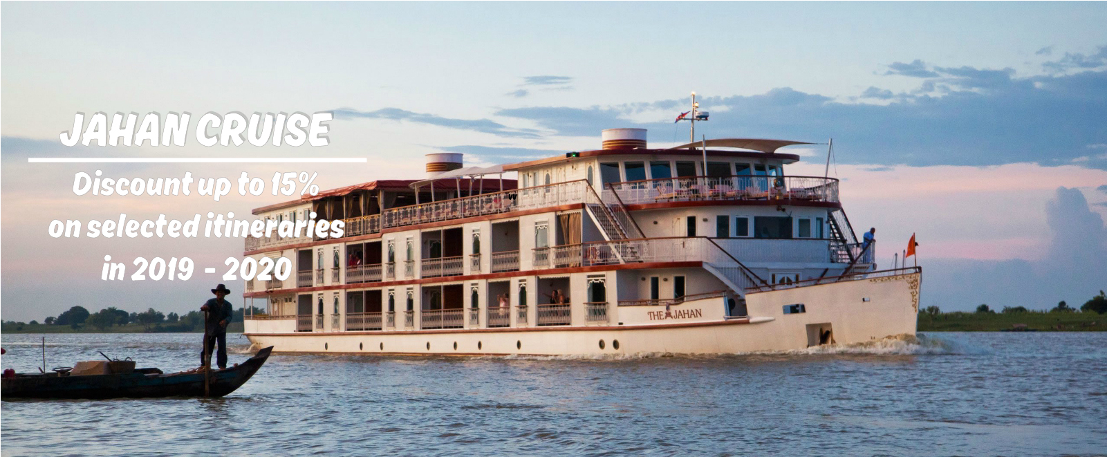 Jahan Cruise Luxury Mekong River Cruising