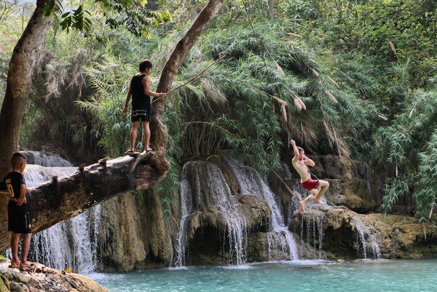 kuang si waterfalls 4