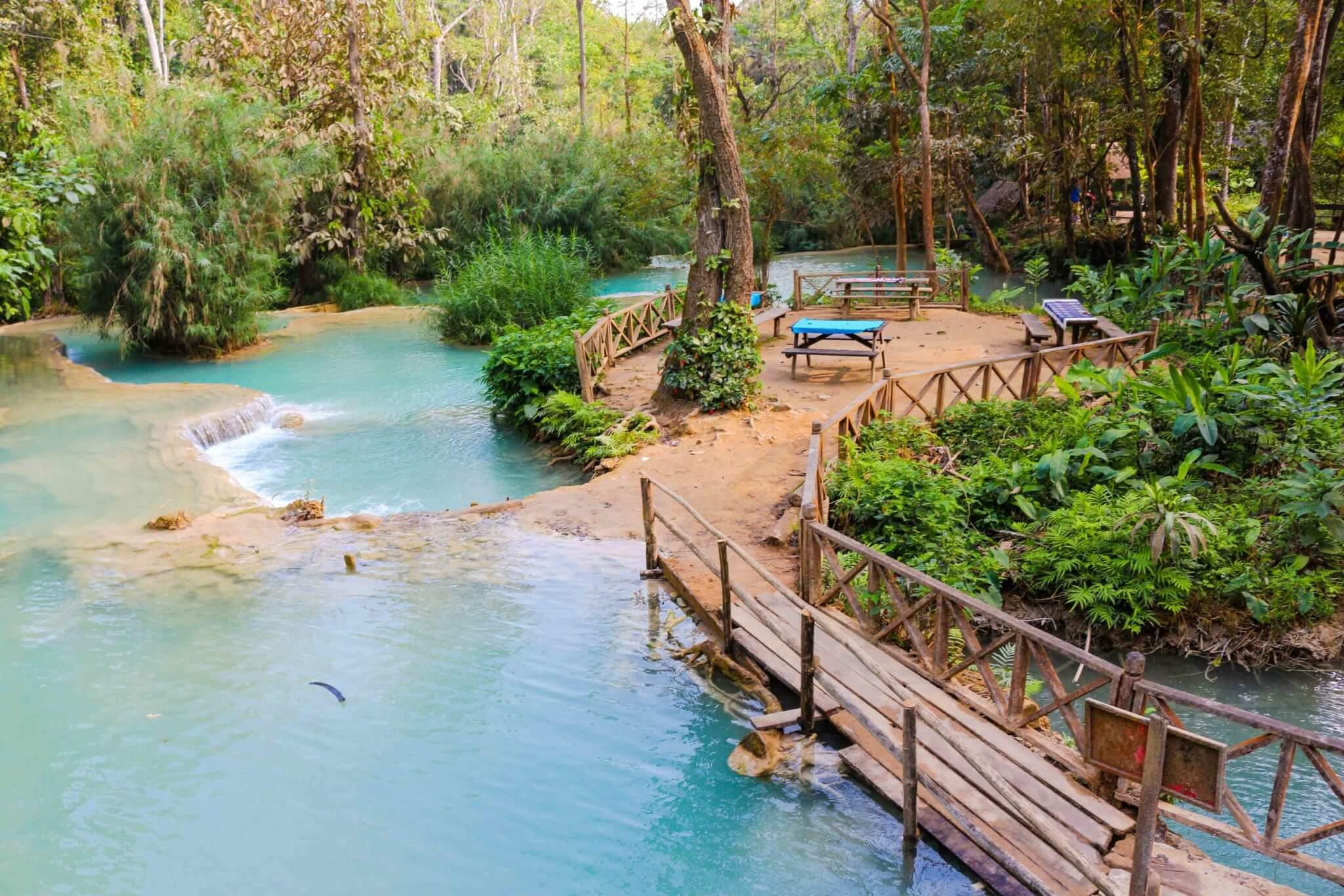 kuang si waterfalls 5