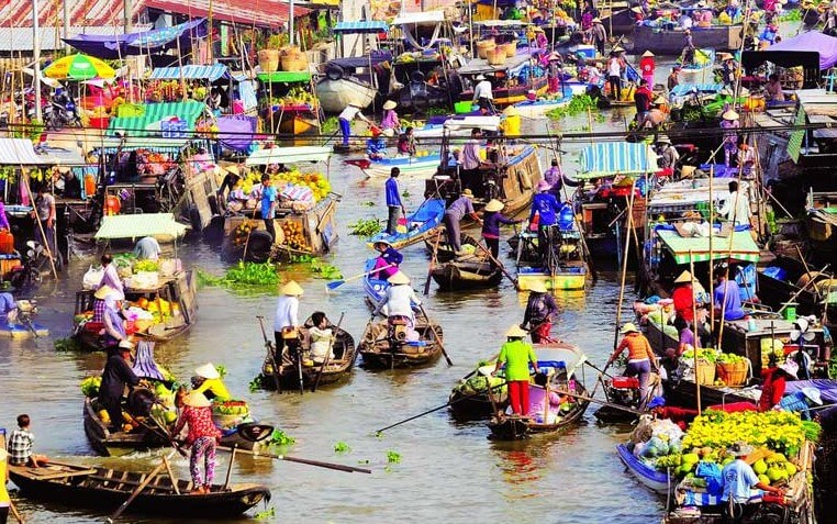 things to do in mekong delta