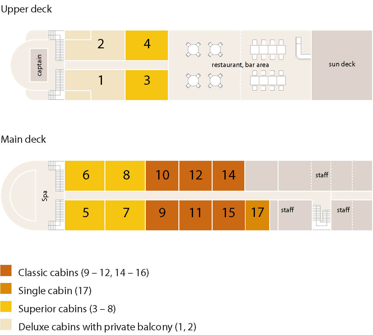 mekong pearl cruise deck plan