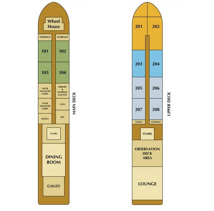 mekong princess cruise deck plan