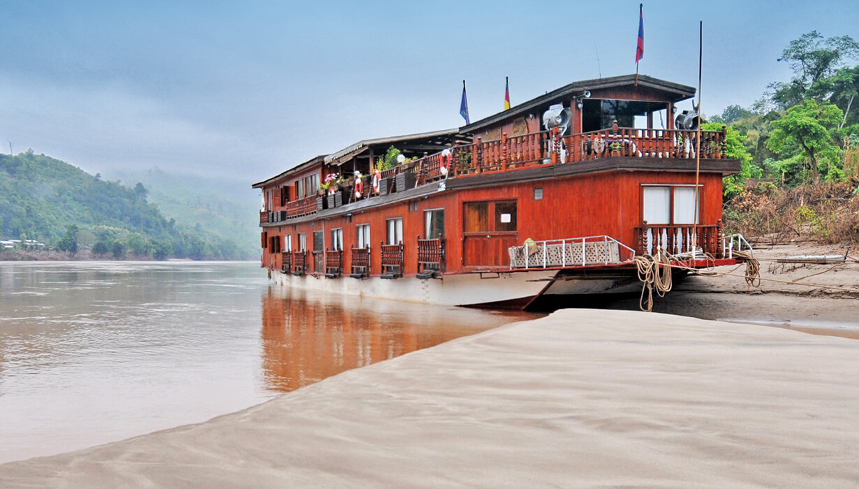 Rv Mekong Sun Cruise Laos