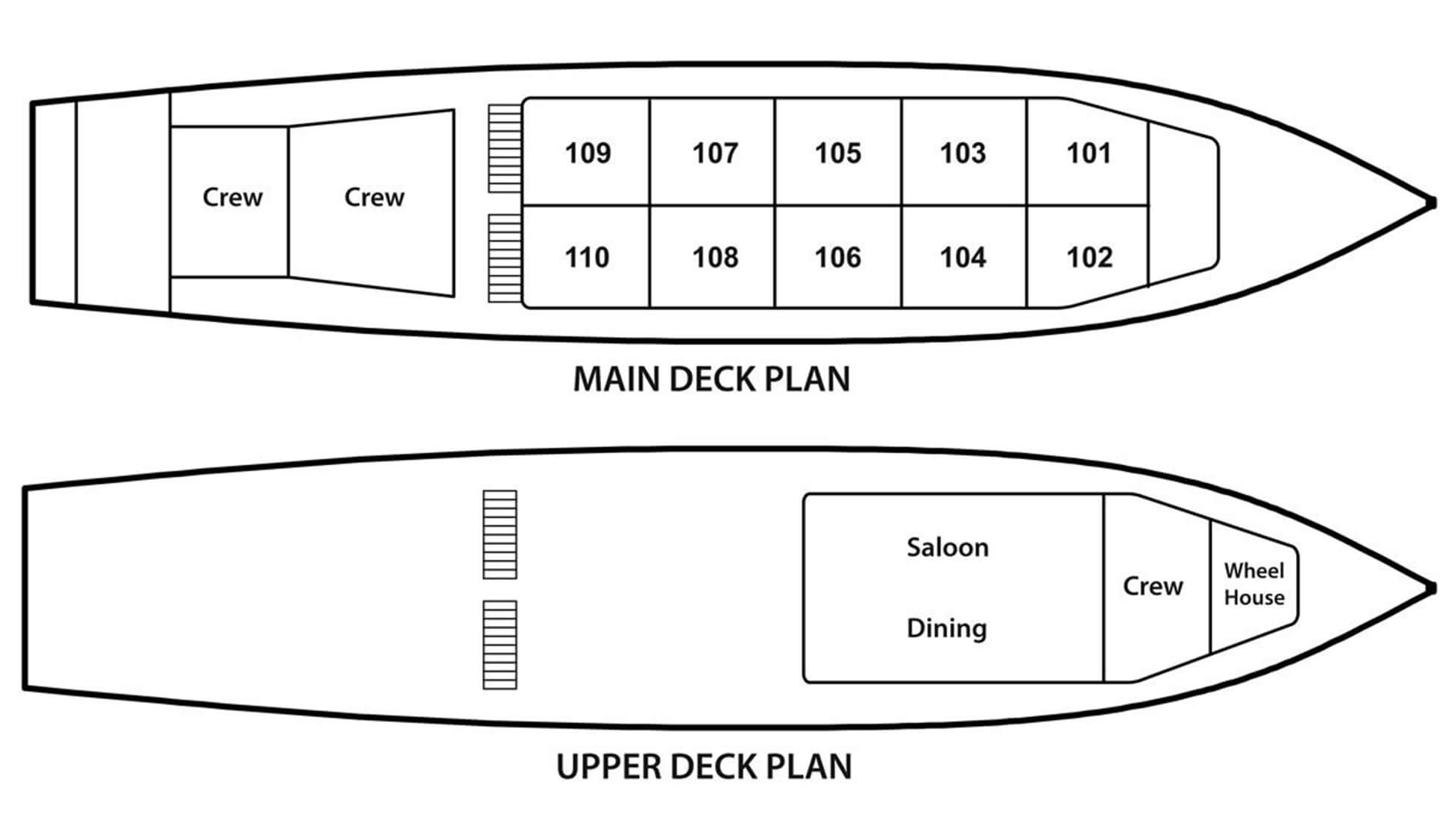rv laos pandaw deck plan